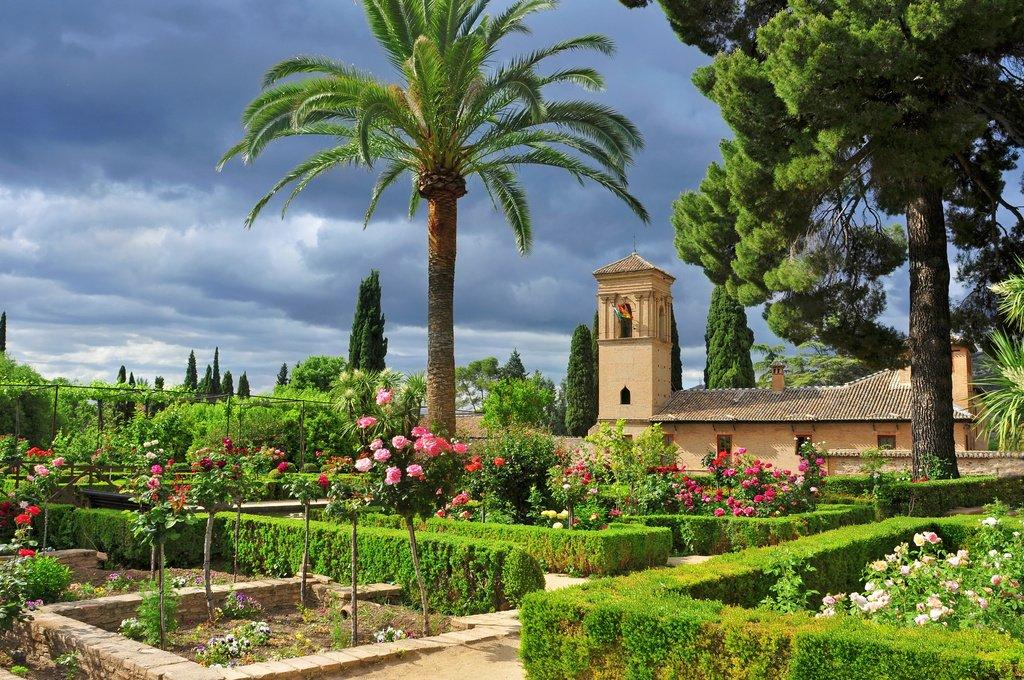imagen jardines de la alhambra