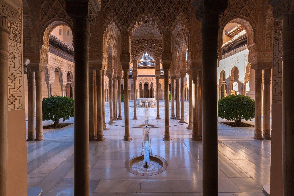 imagen palacios de la alhambra