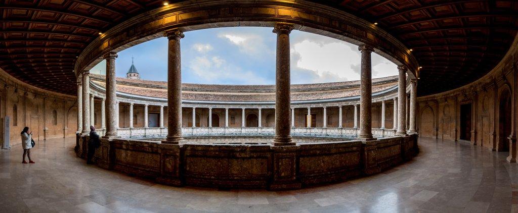 piso superior palacio carlos v