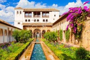 El Generalife de la Alhambra de Granada