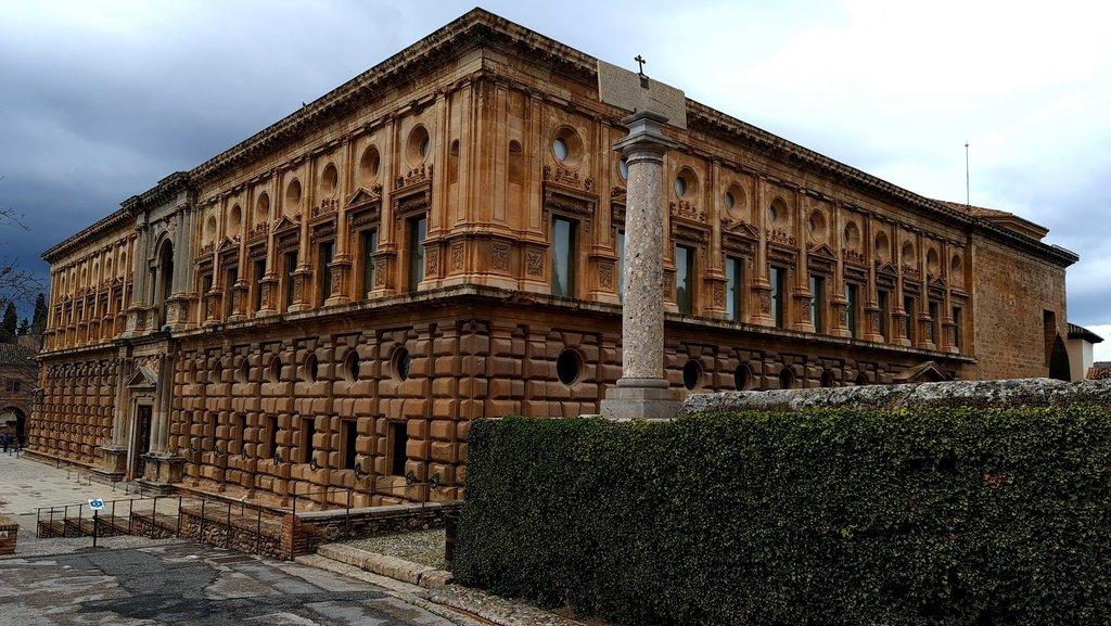 Palacio de Carlos V exterior