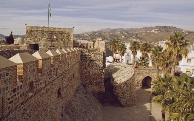 castillo de san miguel en almunecar